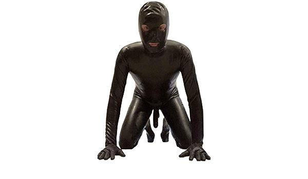 Gloves Feet 0.4 mil 100/% Latex Catsuit Latex Full Coverage,Inner Condom Hood
