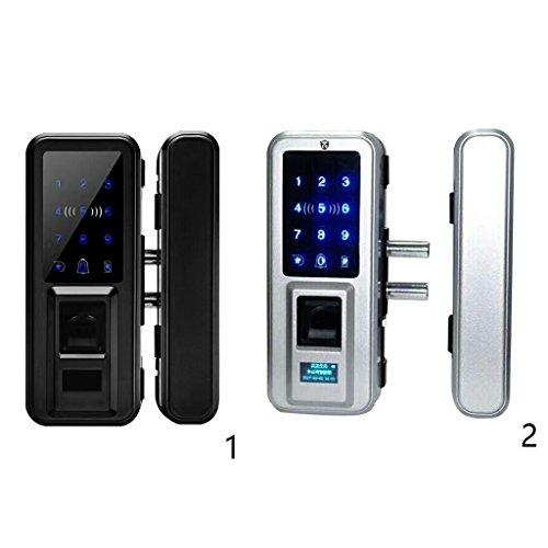 Fityle 500 Group Keyless Lock Touchscreen Deadbolt Lock Anti Peep, Keyless Lock Smart Code Door Lock Keypad Card Smart Digital Keyless Security - Black by Fityle (Image #7)