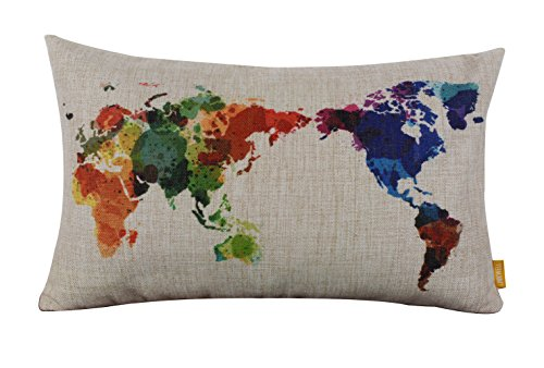 LINKWELL Fashion Watercolor Colorful Cushion product image