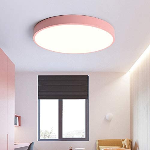 LED Ceiling Lamp Modern Bedroom Aisle Corridor Deco Children's Lamp Kids Ceiling Fixture,220V (Body Color : Yello, Emitting Color : Cool Light)