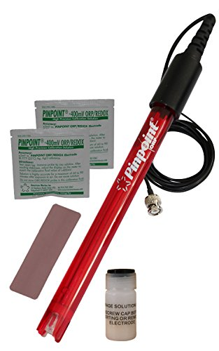 Pinpoint ORP Probe KIT for Negative ORP Measurement and Alkaline/Hydrogen-Rich/Ionized/Kangen Water