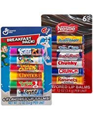 12pc Candy Flavored Lip Balm Assorted Flavors Gloss (Breakfast Pack and Nestle ) for $<!--$13.99-->