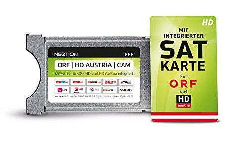 ORF   HD Austria   CAM TV Modul mit SAT-Karte für ORF und HD Austria