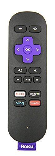 Genuine Roku Streaming Stick Standard Remote [Works only with Roku Streaming Stick (models 3500 and 3600). Does not work with the Roku Streaming Stick (Roku Ready Version)]