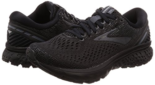 Brooks Womens Ghost 11 Running Shoe - Black/Ebony - D - 5.0 by Brooks (Image #5)