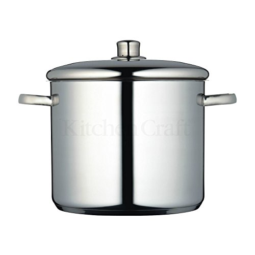 Kitchen Craft 26cm Masterclass Stockpot 11 L (Pack of 2)