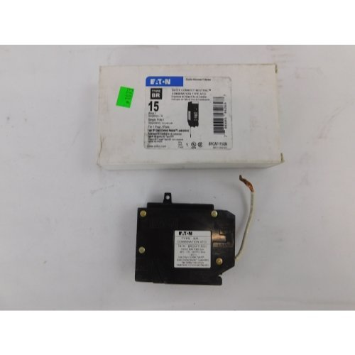 Cutler Hammer Eaton BRCAF115QN AFCI Combo BR 15 amp Quick Connect Breaker