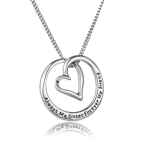 Pendant Necklace for Women Fashion Jewelry Valentines Mothers Day Present for Mom, Wife, Sister, Daughter, Grandma, Aunt (C05)