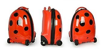 Drop Ship Ordering Code dba National Products Ltd Rastar R//c Luggage-Ladybug Red Fun Creation Inc