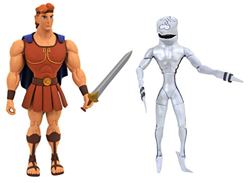 Kingdom Hearts 3: Hercules & Pearl Dusk Select Action Figure Two Pack