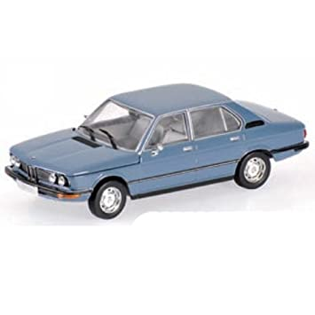 BMW 5 Series E12 (1972) in Blue (1:43 scale) Diecast Model Car ...