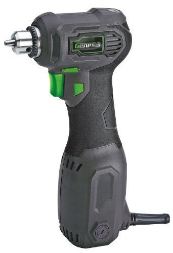 (Genesis GCQD38A 3/8-Inch Close Quarter Drill)