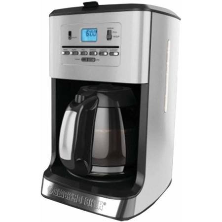 Black & Decker CM3005S 12-Cup Tea and Coffee Maker