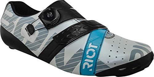哲学的運命的な明るいBont Riot Road + Boa Cycling Shoe :ユーロ50パールホワイト/ブラック