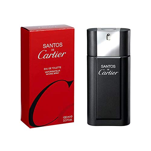 Santos De Cartier By Cartier For Men. Eau De Toilette Spray 3.3 Oz.