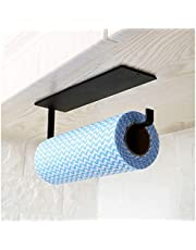 Keukenpapier handdoekhouder onder kast - toiletrolhouder wandmontage zelfklevend - Hanger handdoekenrek voor badkamer, koelkast, gootsteen