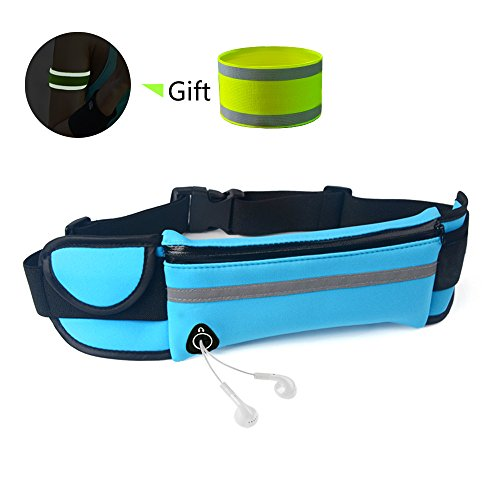 BORUI Fanny Pack Running Belt Waist Pack Water Resistant Runners Belt Adjustable Running Pouch for Women and Man Hiking Camping Jogging Outdoor Fitness Sport - Shopping Avenue On 5th