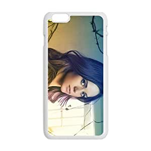 iPhone 6 Plus Case,Lyndsy Fonseca White Customized Phone Case For iPhone 6 Plus