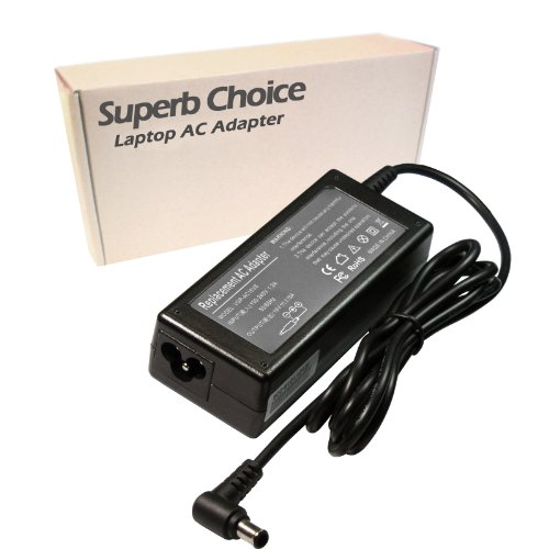 Superb Choice 60W Adapter Compatible with Sony PCGA-AC16V 16V 3.75A