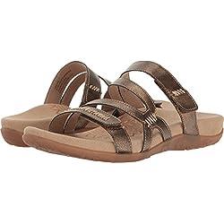 Aetrex Women's Gracey Bronze Shoe