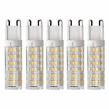 5pcs 4.5 W 450 lm G9 Bombillas LED de Mazorca T 76 Cuentas LED SMD 2835