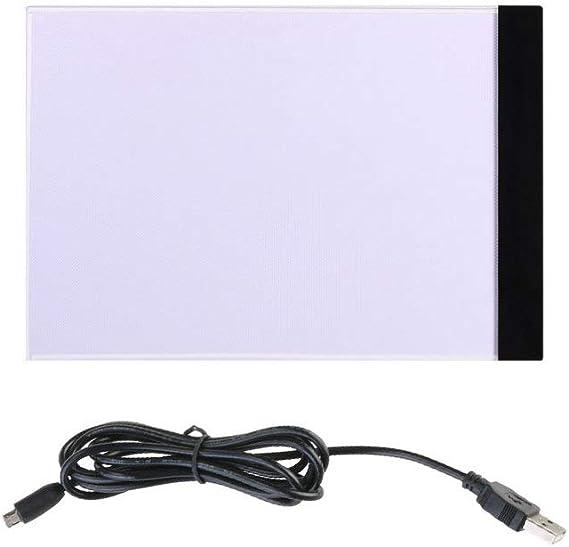 Supvox A4 Caja de Luz Led Cable de Alimentación USB Dimmable ...