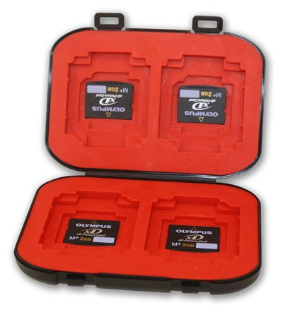 t Flash Memory Card Case - Stores SD, Compact Flash, MS Pro Duo and more, Made in the USA (Duo Drawer)