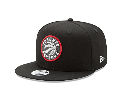NBA Toronto Raptors Women's Team Glisten Snap 9FIFTY Cap, One Size, Black