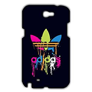 Adidas Back Cover For Samsung Galaxy Note 2 3D Hard Plastic Case