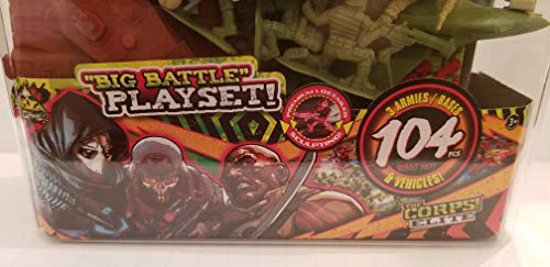 The Corps! - Elite Toy Soldiers 104 pc Plastic Tub (Walmart Exclusive)]()