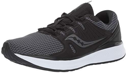 Saucony Men's VERSAFOAM Inferno Running Shoe, Black/Charcoal, 11.5 M US