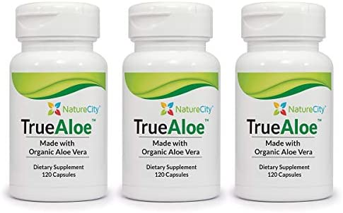 TrueAloe 100 Organic Aloe Vera Supplement 3