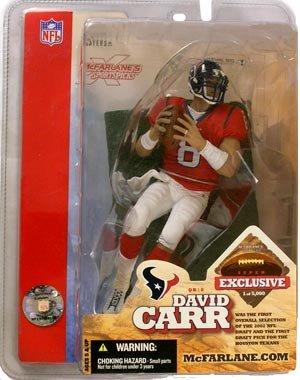 McFarlane Toys NFL Sports Picks Super Bowl XXXVIII 38 Exclusive Action Figure David Carr - Exclusive Super Bowl