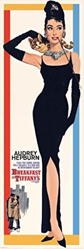 Breakfast at Tiffanys Audrey Hepburn Holly Golightly Romantic Comedy Movie Film Giant Poster 21x62 inch]()