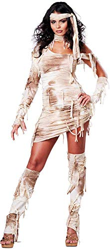 ESSA OAT clothes series Preserved Beauty Egyptian Mystical Mummy Halloween Costume Outfit Adult -