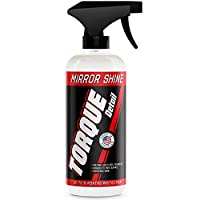 Torque Detail Mirror Shine - Super Gloss Wax & Sealant Hybrid Spray Superior Shine w/Professional Detailer Protection - Quickly Applies in Minutes, Each Coat Last Months