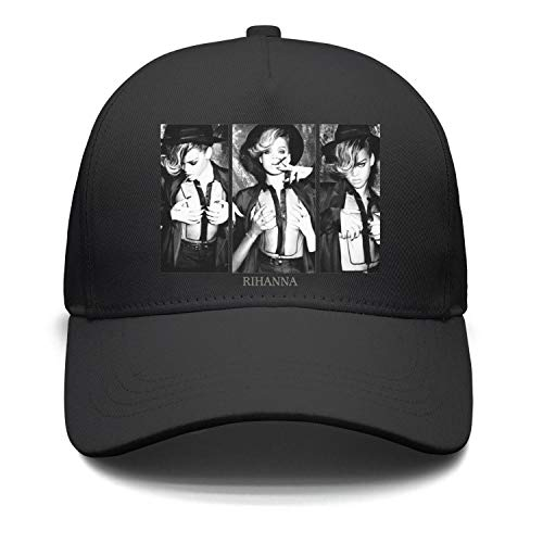 Mawan Rihanna-Talk-That-Talk-Cool-Girl- Baseball Cap Hip Hop Mesh Trucker Hat Snapback ()