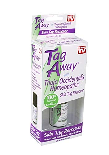 Tag Away Skin Tag Remover | Fast Acting Homeopath Topical Remedy | for All Skin Types by Tag Away