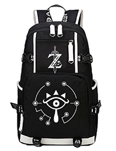 (YOYOSHome Luminous Anime The Legend of Zelda Cosplay Bookbag College Bag Daypack Backpack School)