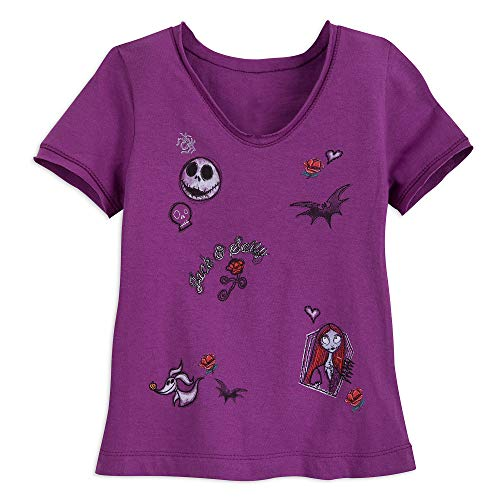 Disney Jack Skellington and Sally T-Shirt for Girls