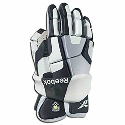 Reebok Player White (Reebok 3K Lacrosse Gloves 12