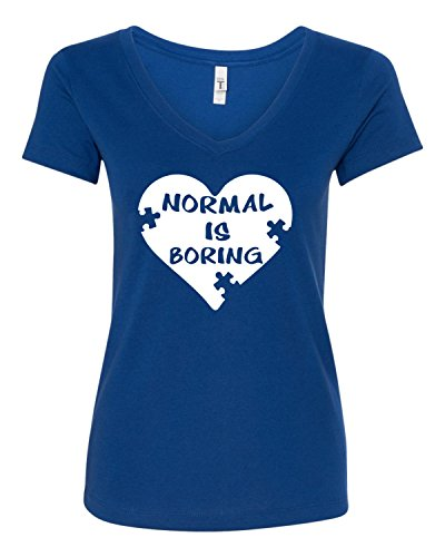 Freedomtees Normal is Boring Heart Autism Awareness Month...