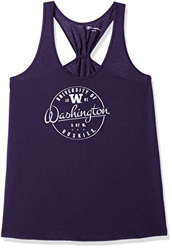NCAA Washington Huskies Women's Champion Eco Swing Tank, Medium, Purple