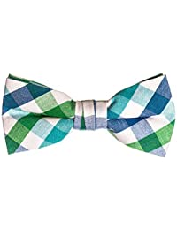 0e4f1382c250 Boys Kids Pre Tied Adjustable Bowtie Easter Holiday Party Dress Up Bow Tie  4 Inches