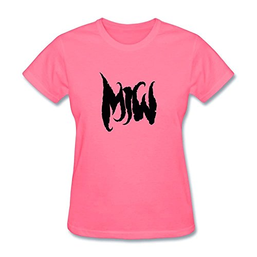 Zakk Wylde Solos - JXK Women's Motionless In White Band Logo T-shirt Size XXL ColorName