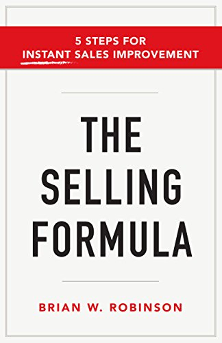 amazon com the selling formula 5 steps for instant sales
