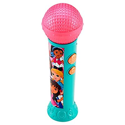 Fisher-Price Nickelodeon Dora & Friends, Sing It Together Microphone: Toys & Games