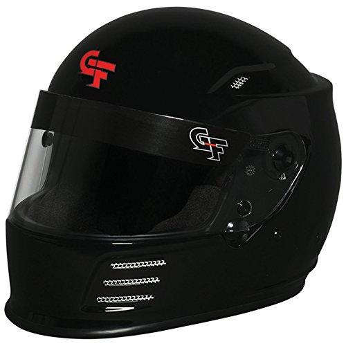 - G-FORCE Racing Gear 3410 Large Black REVO FULL FACE HELMET Large Black SA15