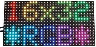 Adafruit 16x32 RGB Matrix Backpack ()