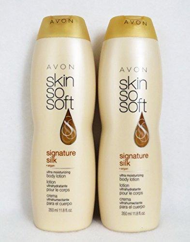 LOT OF 2 AVON SSS Skin So Soft Signature Silk Ultra Moisturizing Body Lotion 11.8 oz